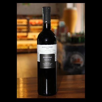 """Вино """"Долины Грузии"""" Тбилиси красное сухое 0,75л"""